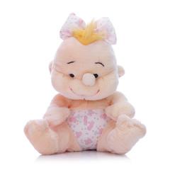 Baby girl mascot