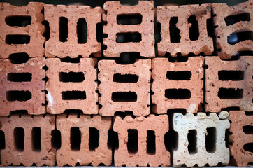 brick Pattern texture background.