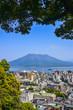 Sakurajima is an active composite volcano and a former island