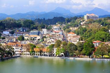View on Kandy City
