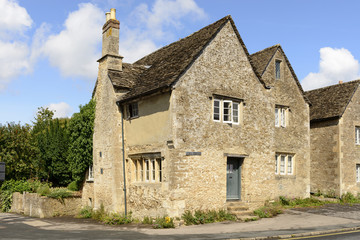 old stone cottage, Lacock