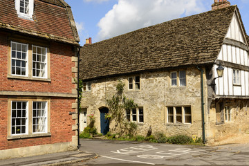 medieval houses , Lacock