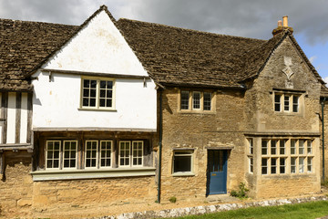old stone house , Lacock