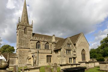 Church side, Lacock