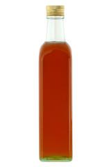 Organic honey, isolated on white background