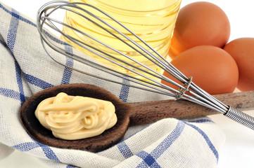 Mayonnaise et ingrédients
