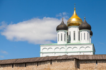 The Trinity Cathedral located since 1589 in Pskov Kremlin