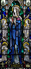 Faith in stained glass