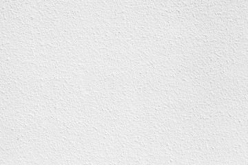 White concrete wall with plaster. Background photo texture