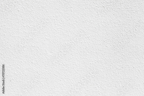 White concrete wall with plaster. Background photo texture - 70722086