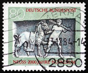 Postage stamp Germany 1984 Tomb of Oclatius, Neuss