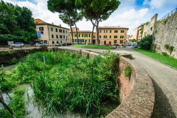 Fosso del Mulino, Piazza delle Gondole, Pisa