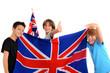 Prêt pour l'anglais 02 - Enfants drapeau Union Jack - 70723433
