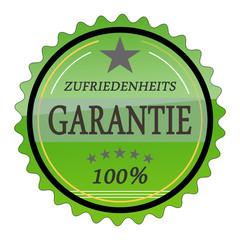 ql22 QualityLabel - Zufriedenheitsgarantie 1 - grün g1797