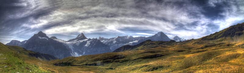 Berner Oberland Panorama