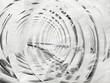Abstract white spiral illustration background with old gray pape