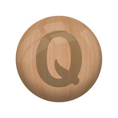 Boule de bois : Q