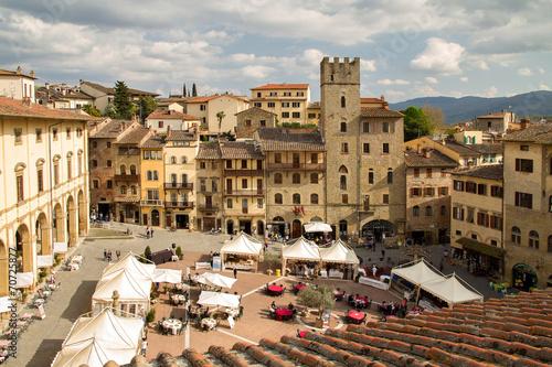 Leinwanddruck Bild Toskania