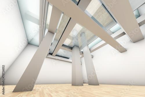 canvas print picture Moderne Architektur