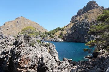 Coast of Mallorca. Spain