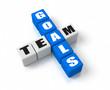 Team Goals Blue