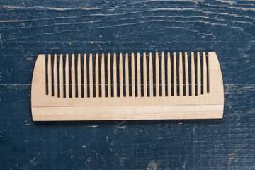 handmade wooden comb