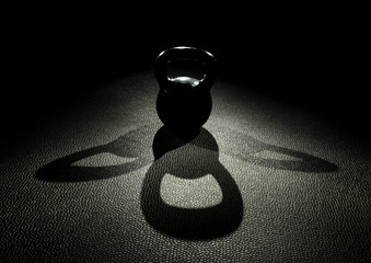 kettle bell three shadow