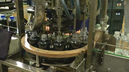 bottling conveyor