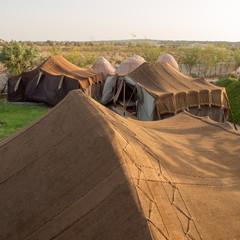 Berber tents in Essaouira, Morocco