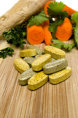 Vitamins and Vegis