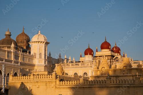 Papiers peints Inde Amba Vilas palace de Mysore