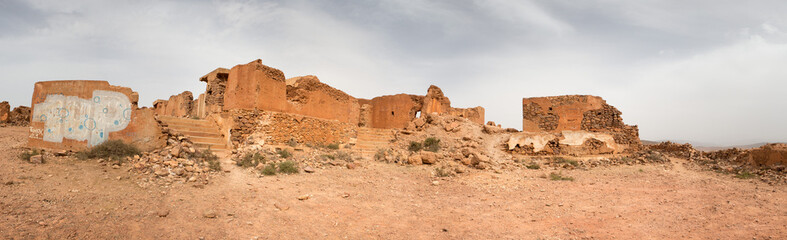 Old colonial fort in Morocco