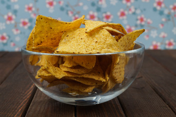 Bowl of tortilla chips