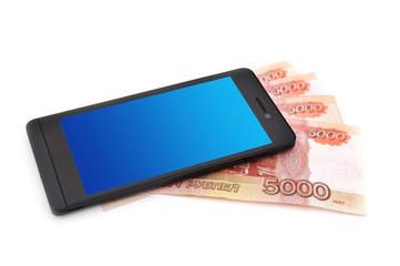 Мобильный телефон и деньги