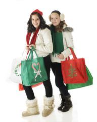 Tweens Go Christmas Shopping