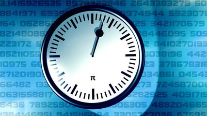 Die Pi Uhr