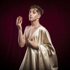 portrait of ancient roman man