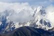 Transcaucasia mountains,Upper Svaneti,popular trekking route