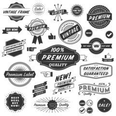 Vintage Copyspace Design Elements
