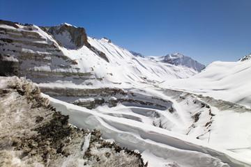 Open Pit Copper Mine in Chile