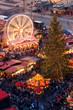 canvas print picture - Weihnachtsmarkt Dresden
