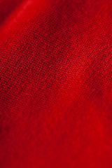 Abstract background of luxurious red fabric