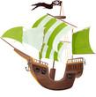 bateau pirate - 70737009
