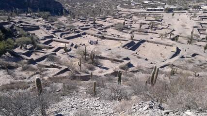 Ruinas de Quilmes en Tucuman, Argentina