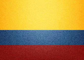 Colombia denim flag