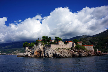 The island of St. Stephen from the sea