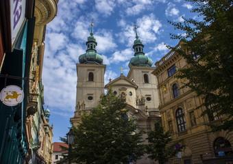 Сhurch in the center of Prague