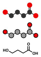 Vitamin K (K1, phylloquinone, phytomenadione) molecule.