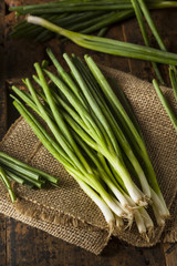 Organic Healthy Green Onion
