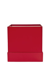 Red Gift Box Open At The Top